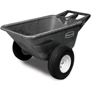 View: 5642-10 7.5 Cu Ft Big Wheel Cart